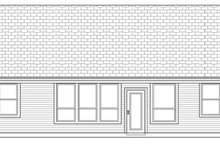 Home Plan - Country Exterior - Rear Elevation Plan #84-497