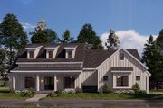 Craftsman Style House Plan - 4 Beds 2.5 Baths 2343 Sq/Ft Plan #923-175 Exterior - Front Elevation