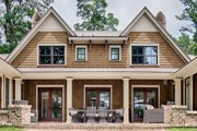 Country Style House Plan - 4 Beds 4.5 Baths 5582 Sq/Ft Plan #928-320 Exterior - Rear Elevation