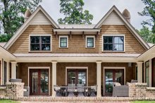 Country Exterior - Rear Elevation Plan #928-320