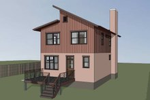 Dream House Plan - Modern Exterior - Other Elevation Plan #79-293