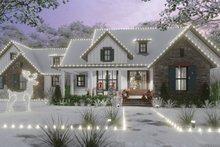 Architectural House Design - Cottage Exterior - Front Elevation Plan #120-269