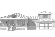 Home Plan - Cottage Exterior - Front Elevation Plan #938-86