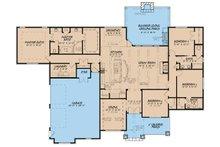 European Floor Plan - Main Floor Plan Plan #17-3411