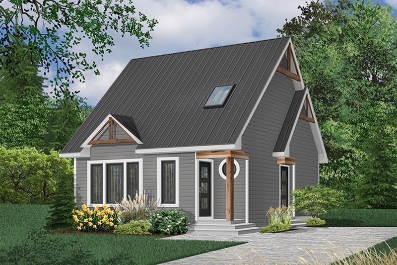 House Plan Design - Craftsman Exterior - Front Elevation Plan #23-2092
