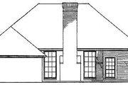 European Style House Plan - 3 Beds 2 Baths 1673 Sq/Ft Plan #310-573
