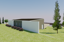 Modern Exterior - Rear Elevation Plan #542-11