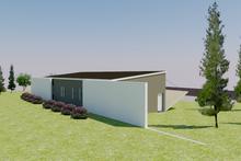 Home Plan - Modern Exterior - Rear Elevation Plan #542-11