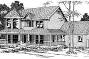 Victorian Style House Plan - 4 Beds 2.5 Baths 2812 Sq/Ft Plan #124-274
