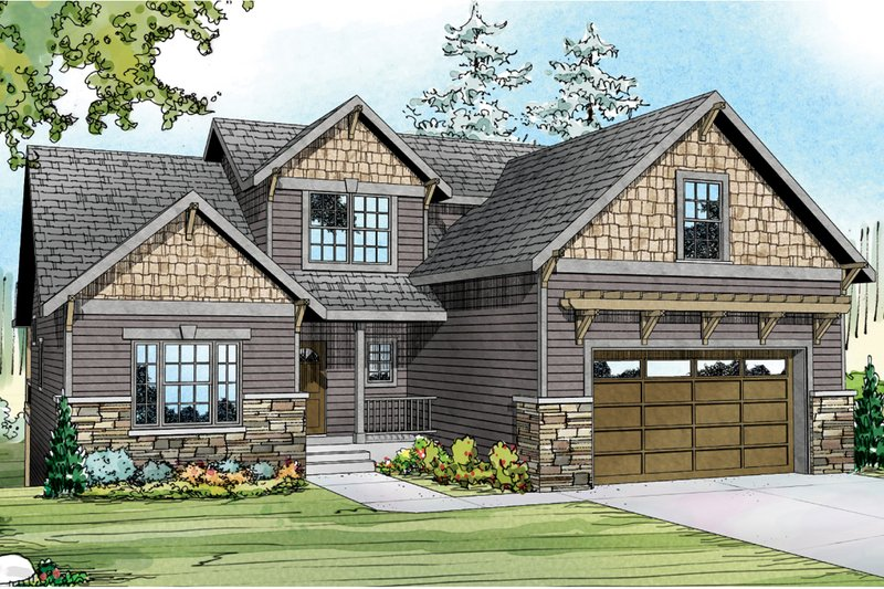 Traditional Exterior - Other Elevation Plan #124-921 - Houseplans.com