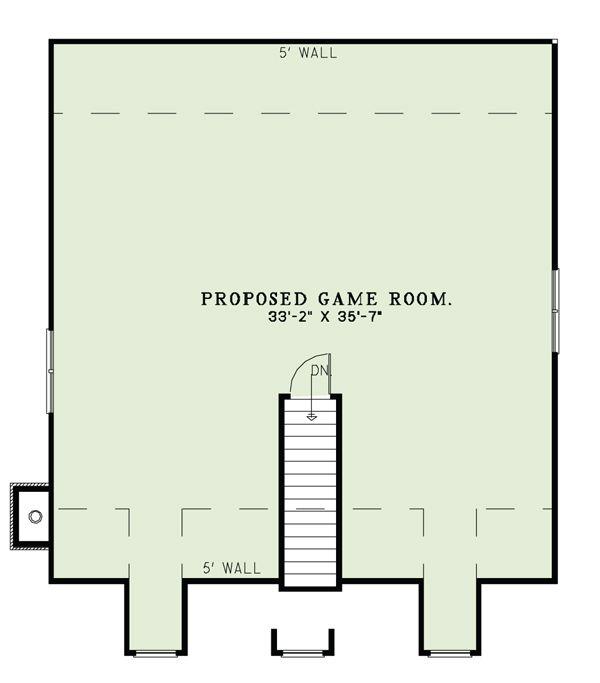 Country Floor Plan - Other Floor Plan Plan #17-2503