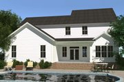 Farmhouse Style House Plan - 4 Beds 3.5 Baths 3037 Sq/Ft Plan #1071-6 Exterior - Rear Elevation
