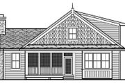 Farmhouse Style House Plan - 3 Beds 2 Baths 1599 Sq/Ft Plan #51-344 Exterior - Rear Elevation