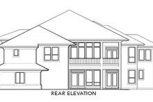 Home Plan - Exterior - Rear Elevation Plan #48-298