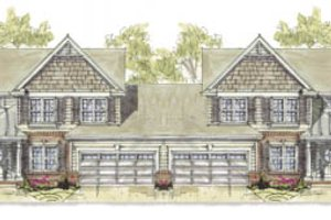 Traditional Exterior - Front Elevation Plan #20-1276