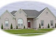 European Style House Plan - 3 Beds 2 Baths 2079 Sq/Ft Plan #81-1063 Exterior - Front Elevation