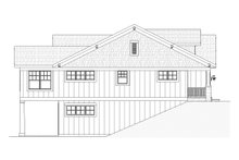 House Design - Traditional Exterior - Other Elevation Plan #901-109