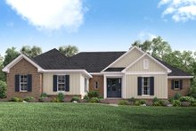 Home Plan - Traditional Exterior - Front Elevation Plan #430-162