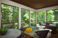 Architectural House Design - Contemporary Exterior - Outdoor Living Plan #928-315