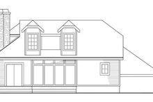 Contemporary Exterior - Rear Elevation Plan #124-323