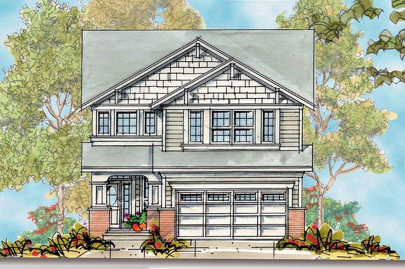 House Plan Design - Bungalow design, elevation