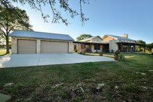 Modern design, Ranch style home, elevation photo