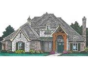 European Style House Plan - 4 Beds 3.5 Baths 2893 Sq/Ft Plan #310-992