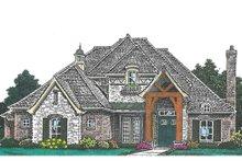 Dream House Plan - European Exterior - Front Elevation Plan #310-992