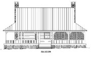 Country Style House Plan - 1 Beds 1.5 Baths 1305 Sq/Ft Plan #81-13876