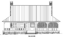 Home Plan - Country Exterior - Rear Elevation Plan #81-13876