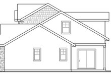 Craftsman Exterior - Other Elevation Plan #124-881