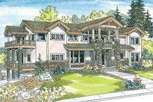 Home Plan - Craftsman Exterior - Front Elevation Plan #124-516