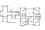 Country Style House Plan - 4 Beds 4.5 Baths 4932 Sq/Ft Plan #928-276 Floor Plan - Upper Floor Plan