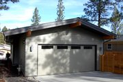 Modern Style House Plan - 3 Beds 2 Baths 1695 Sq/Ft Plan #895-23 Exterior - Rear Elevation