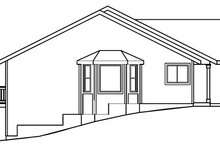 Country Exterior - Other Elevation Plan #124-368