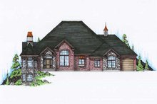 House Plan Design - Bungalow Exterior - Front Elevation Plan #5-327