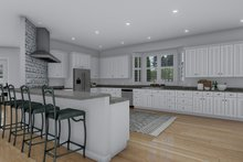 Architectural House Design - Craftsman Interior - Kitchen Plan #1060-53
