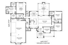 European Floor Plan - Main Floor Plan Plan #932-22