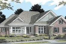 Country Exterior - Front Elevation Plan #513-2042