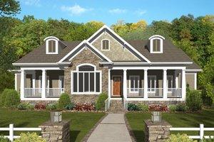 Home Plan - Craftsman Exterior - Front Elevation Plan #56-701