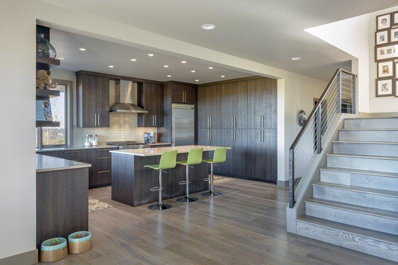 Contemporary Interior - Kitchen Plan #892-15 - Houseplans.com