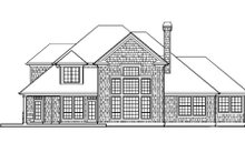 Home Plan - Craftsman Exterior - Rear Elevation Plan #48-116