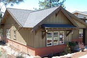 Bungalow Style House Plan - 3 Beds 2.5 Baths 1760 Sq/Ft Plan #434-1