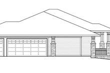 Prairie Exterior - Other Elevation Plan #124-873