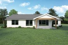 House Design - Craftsman Exterior - Rear Elevation Plan #1070-143