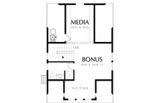Colonial Floor Plan - Other Floor Plan Plan #48-1008