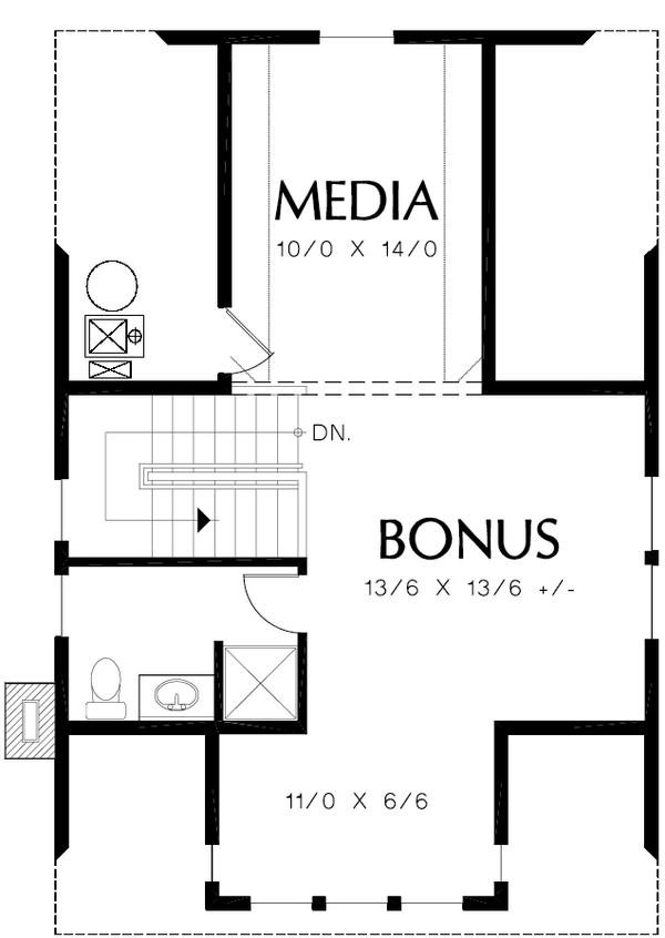 Colonial Floor Plan - Other Floor Plan #48-1008