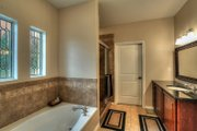 European Style House Plan - 3 Beds 2 Baths 1750 Sq/Ft Plan #430-42 Interior - Master Bathroom