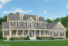 Country Exterior - Front Elevation Plan #929-44