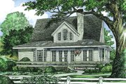 Farmhouse Style House Plan - 3 Beds 2.5 Baths 1778 Sq/Ft Plan #929-77 Exterior - Rear Elevation
